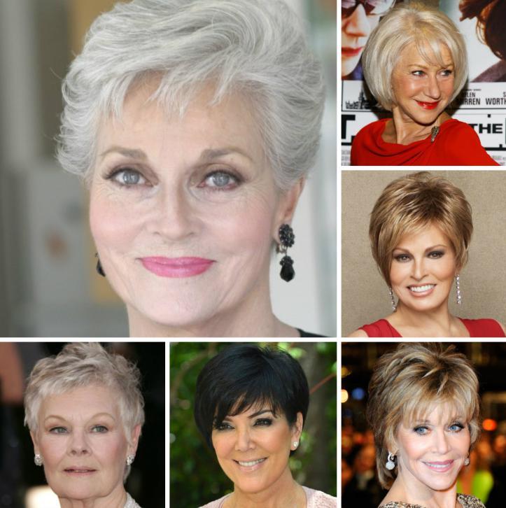 coafuri par scurt pentru femei de peste 50 de ani