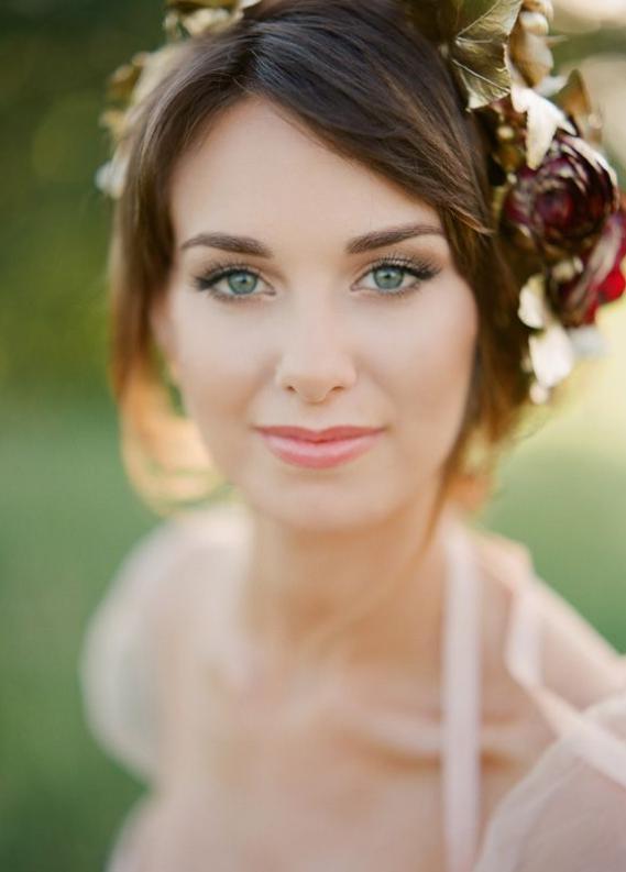 machiaj de zi ochi verzi nunta