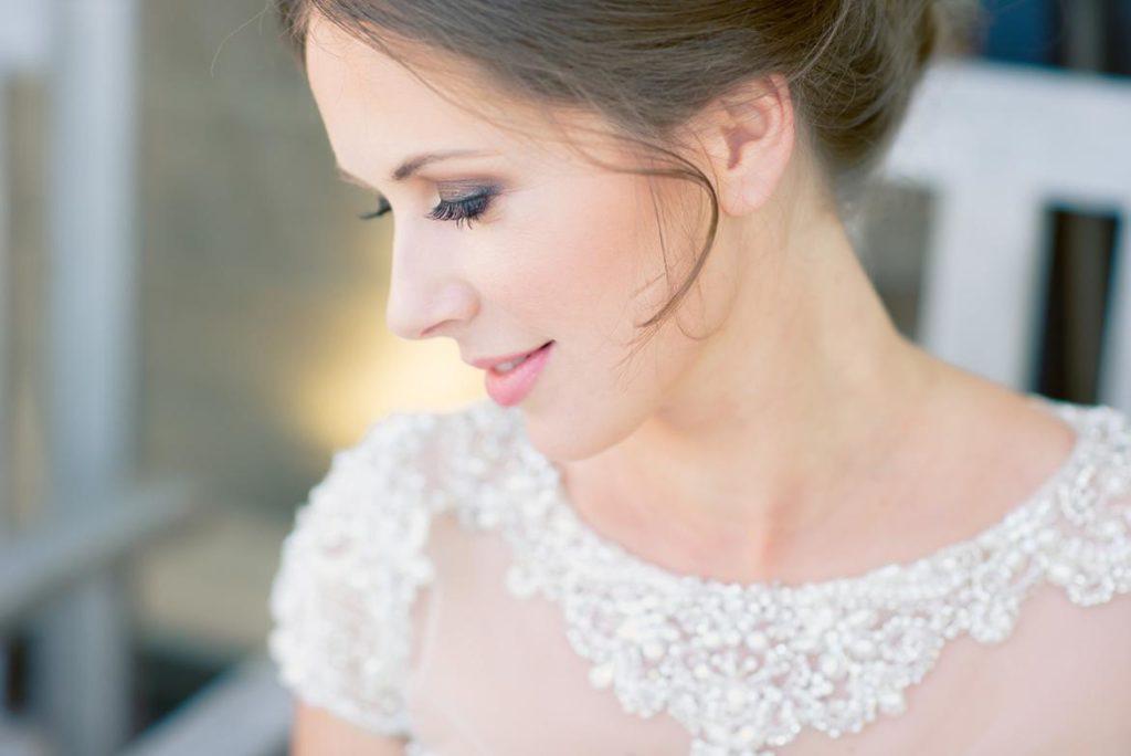 machiaj nude de nunta