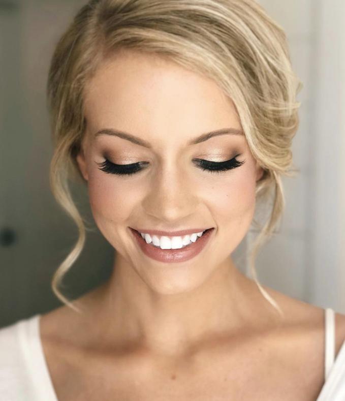 makeup simplu mireasa