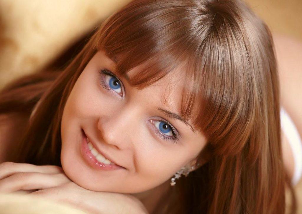 machiaj de zi ochi albastri